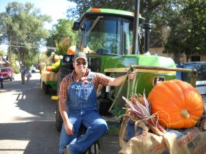 Florence Pioneer Day Parade Jimmy and his John Deere!
