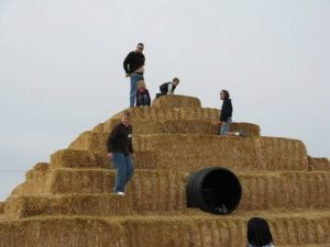 hay-slide